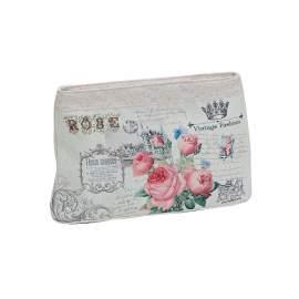 Rózsás kozmetikai táska