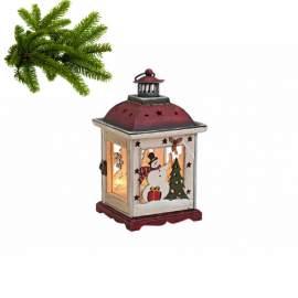 Karácsonyi lámpás 15X15X27cm