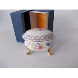 Porcelán ékszerdoboz